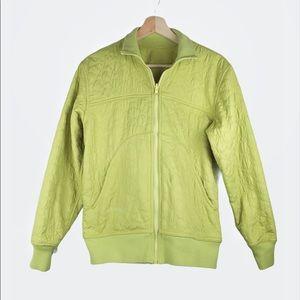 Columbia Retro Jacket Reversible Highlighter Green